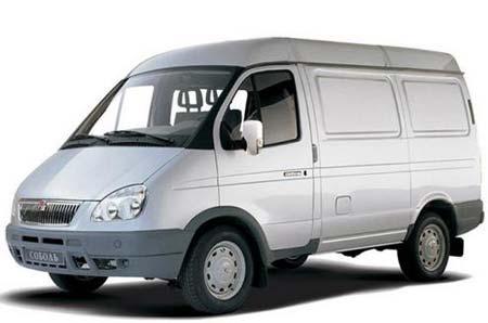 ГАЗ 2752 кузов фургон.