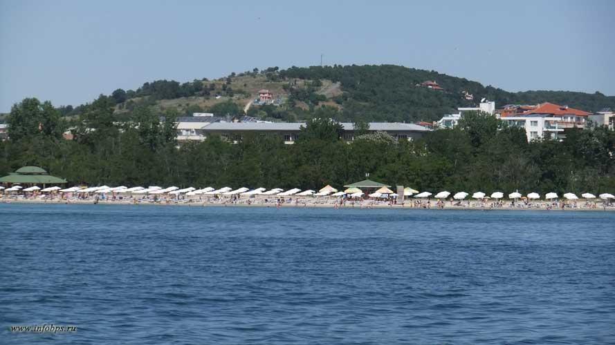 Морские пляжи Болгарии.