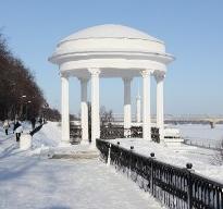 Фото Беседка на Волжской набережной.