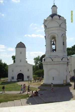 Фото Колокольня  Церкви  Вознесения в Коломенском