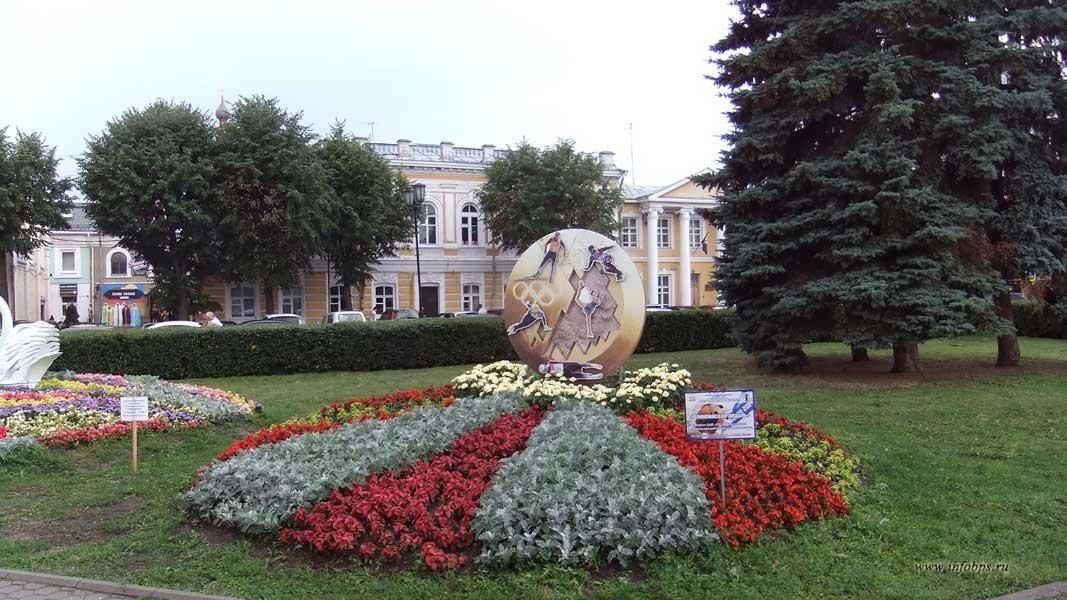 Цветники Ярославля
