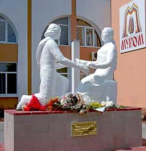 Скульптурная композиция «Святые благоверные Пётр и Феврония Муромские» в г.Муром