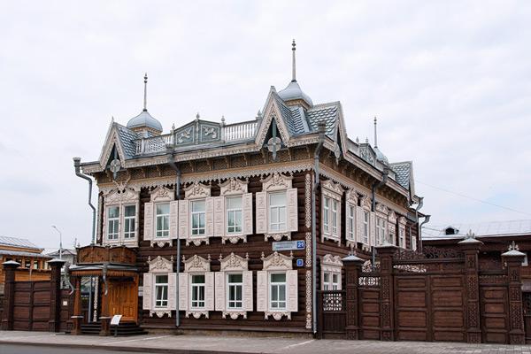 Дом Европы — визитная карточка Иркутска