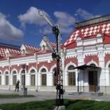 Фото Железнодорожный музей-вокзал в Екатеринбурге