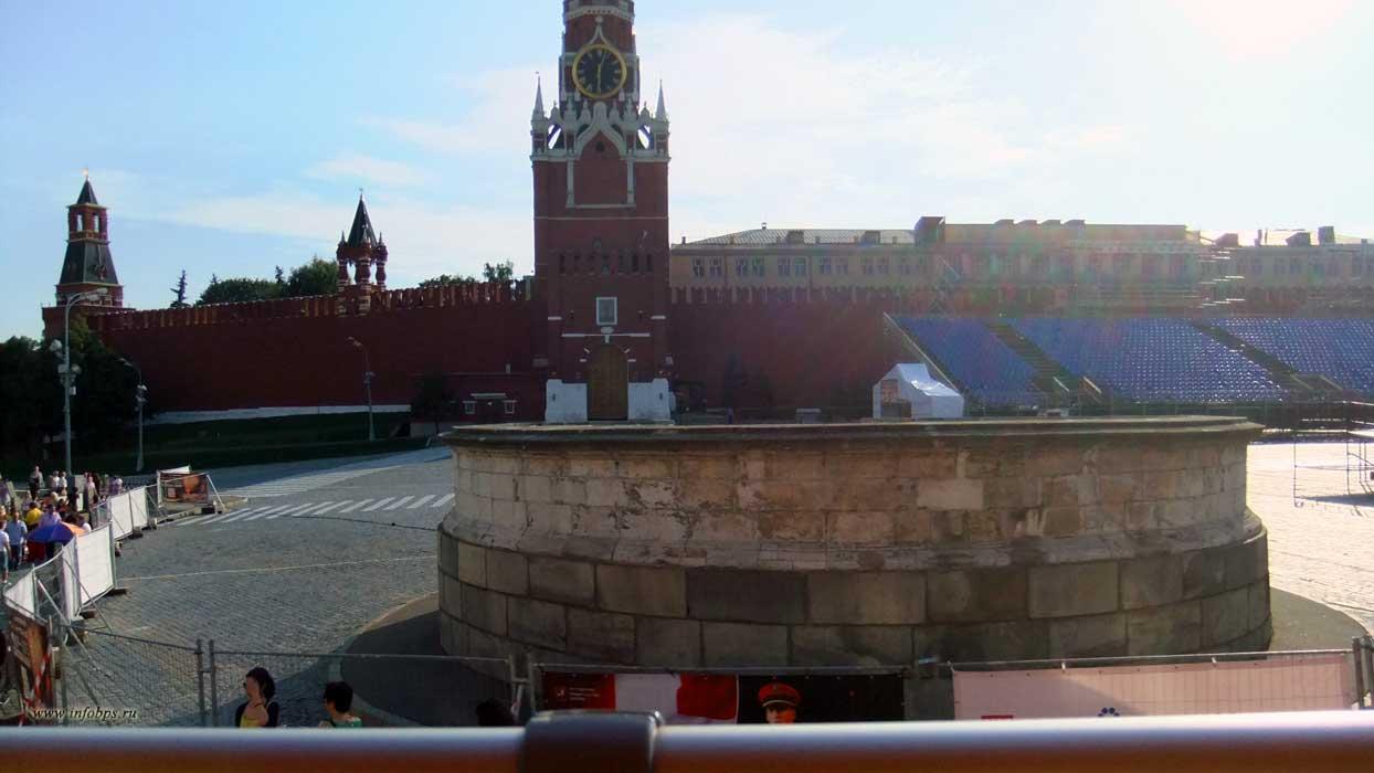 Москва. Лобное место.