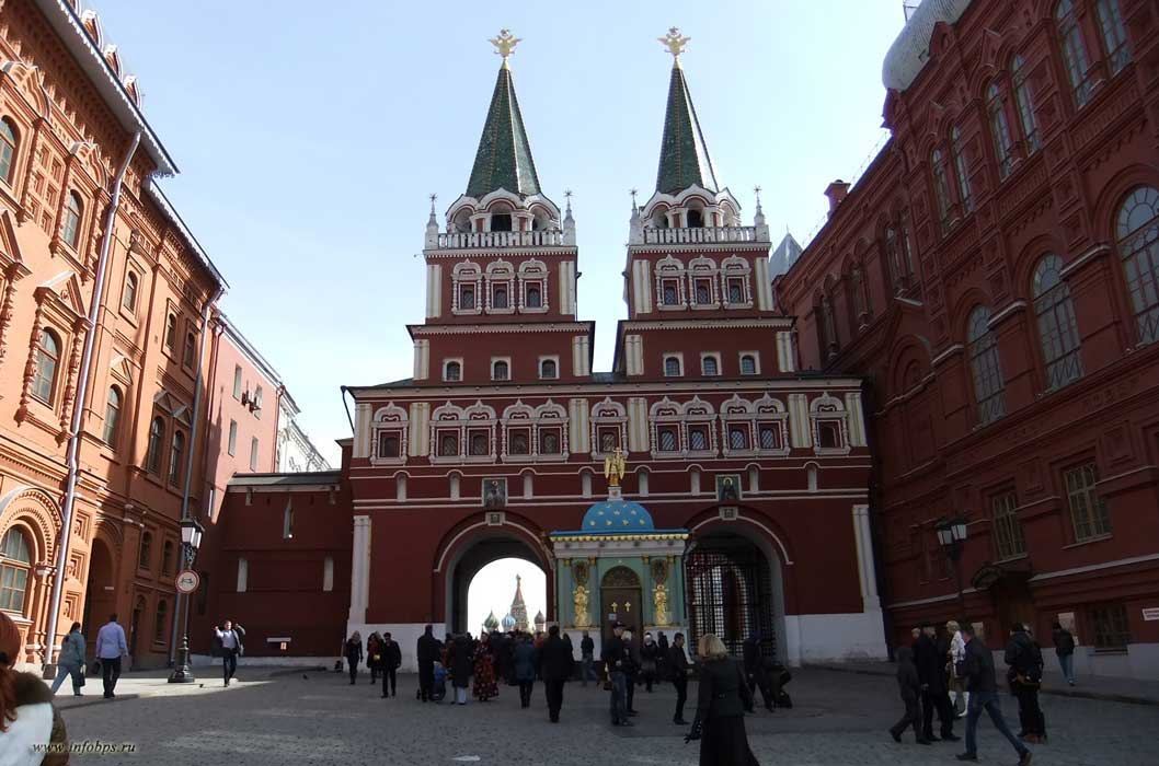 Москва.  Ворота Китай-города