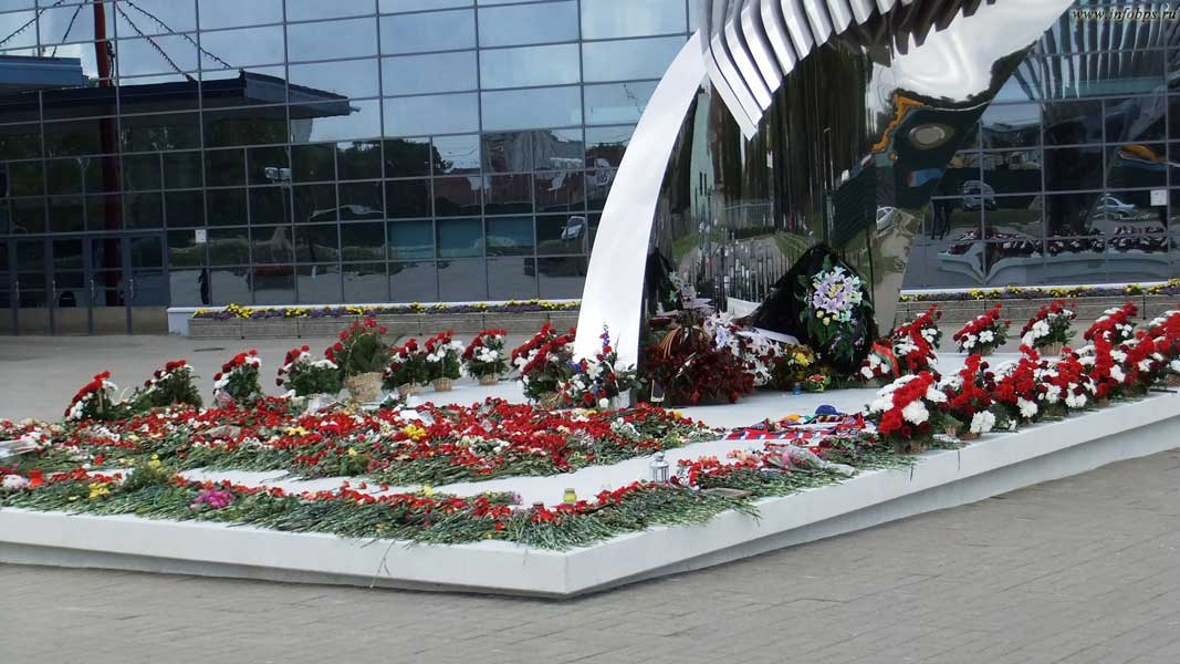 Монумент «Хоккейное братство» г.Ярославль