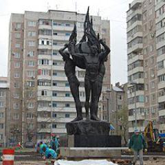 Монумент ликвидаторам чернобыльской аварии. г.Краснодар