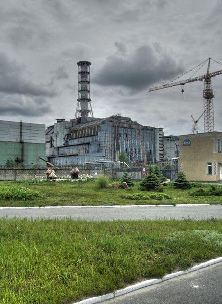 Чернобыль. Четвёртый реактор АЭС.