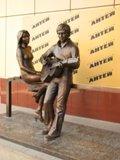 Фото Памятник Владимиру Высоцкому и Марине Влади в Екатеринбурге
