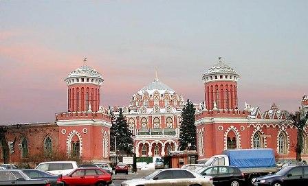 Фото Петровский путевой дворец