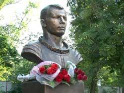 Памятник Юрию Гагарину установлен в Ростове