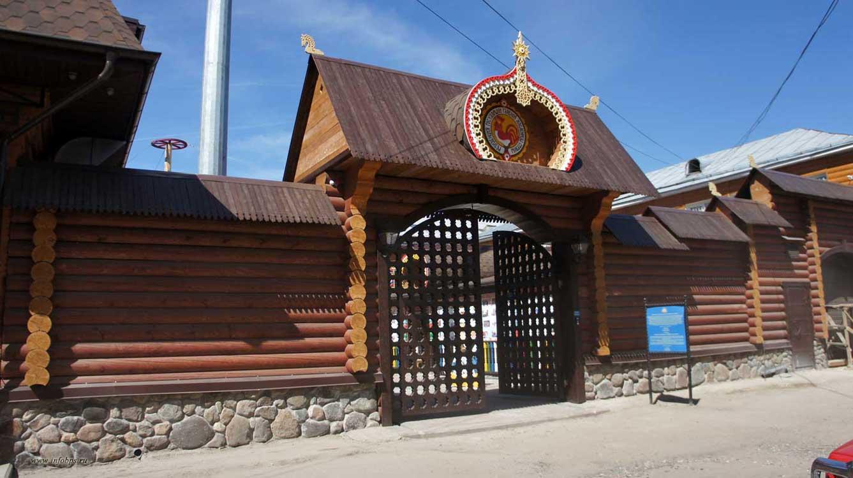Резиденция государыни Главной Масленицы страны