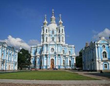 Фото Смольный монастырь