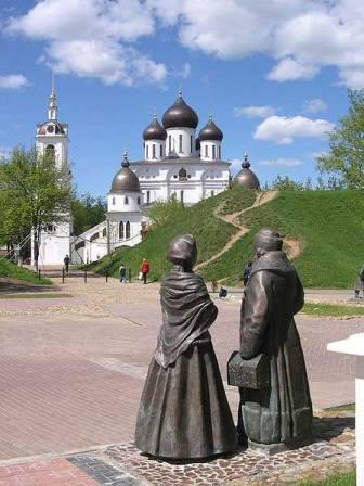 Фото Успенский собор в Дмитрове