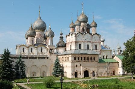 Фото Успенский собор в Ростове Великом