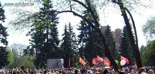 9 мая возле Вечного Огня в Ярославле.