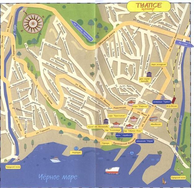карта твери - Города мира.