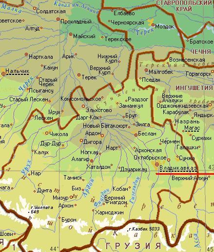 карта владикавказа скачать - фото 9