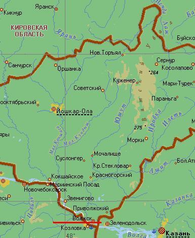 Показать на карте гостиницы в юрино марий эл