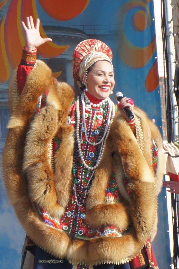 Надежда Бабкина и Масленица 2013 в Ярославле