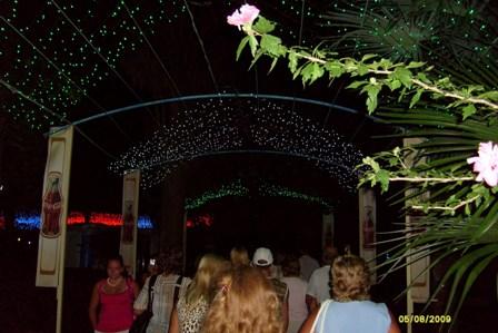 Вечерний Сочи. Фото с экскурсии.