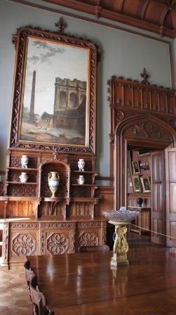 Алупка. Фото с экскурсии. Интерьеры Воронцовского дворца.
