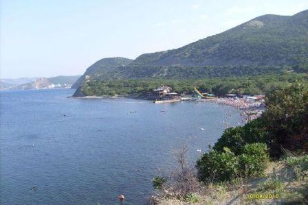 Анапа, пляж возле дельфинария