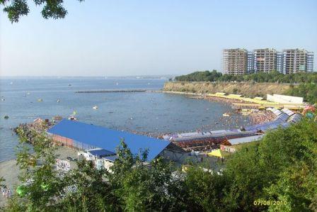 Анапа. Пляж.