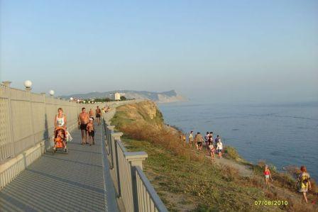 Анапа, галечный пляж