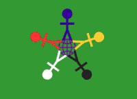 Флаг Международного дня детей