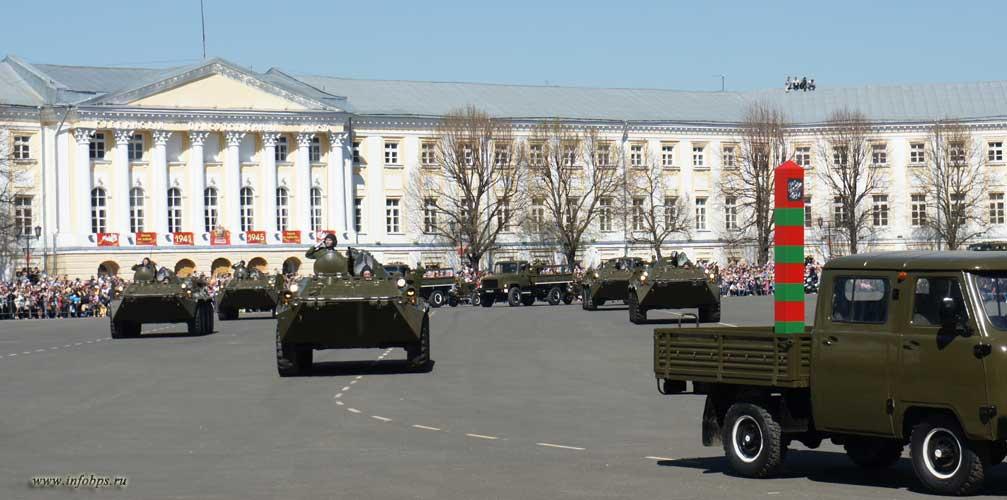 9 мая!  Празднование Дня Победы в Ярославле. Парад.