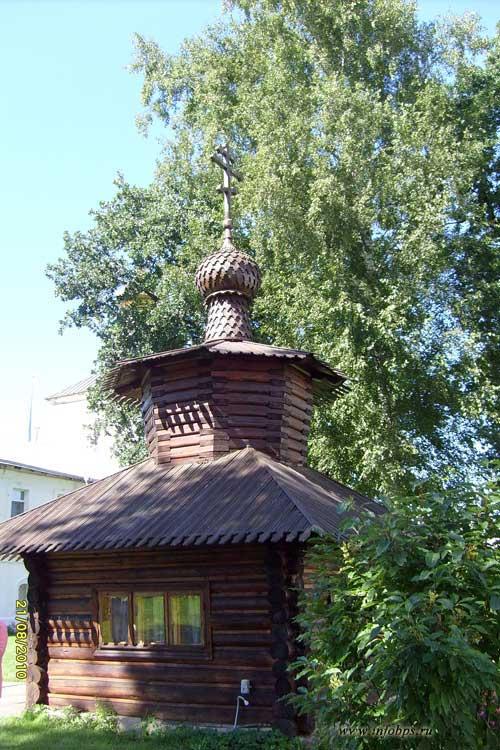 Древняя часовня Толжского монастыря