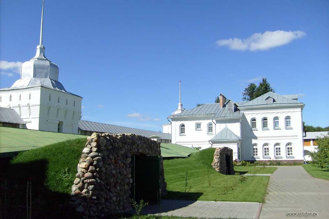 Хранилища монастыря.