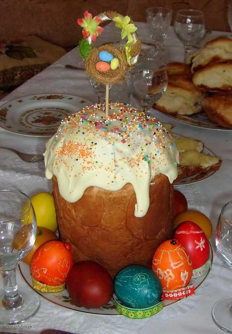 Кулинарные рецепты к празднику Пасхи.