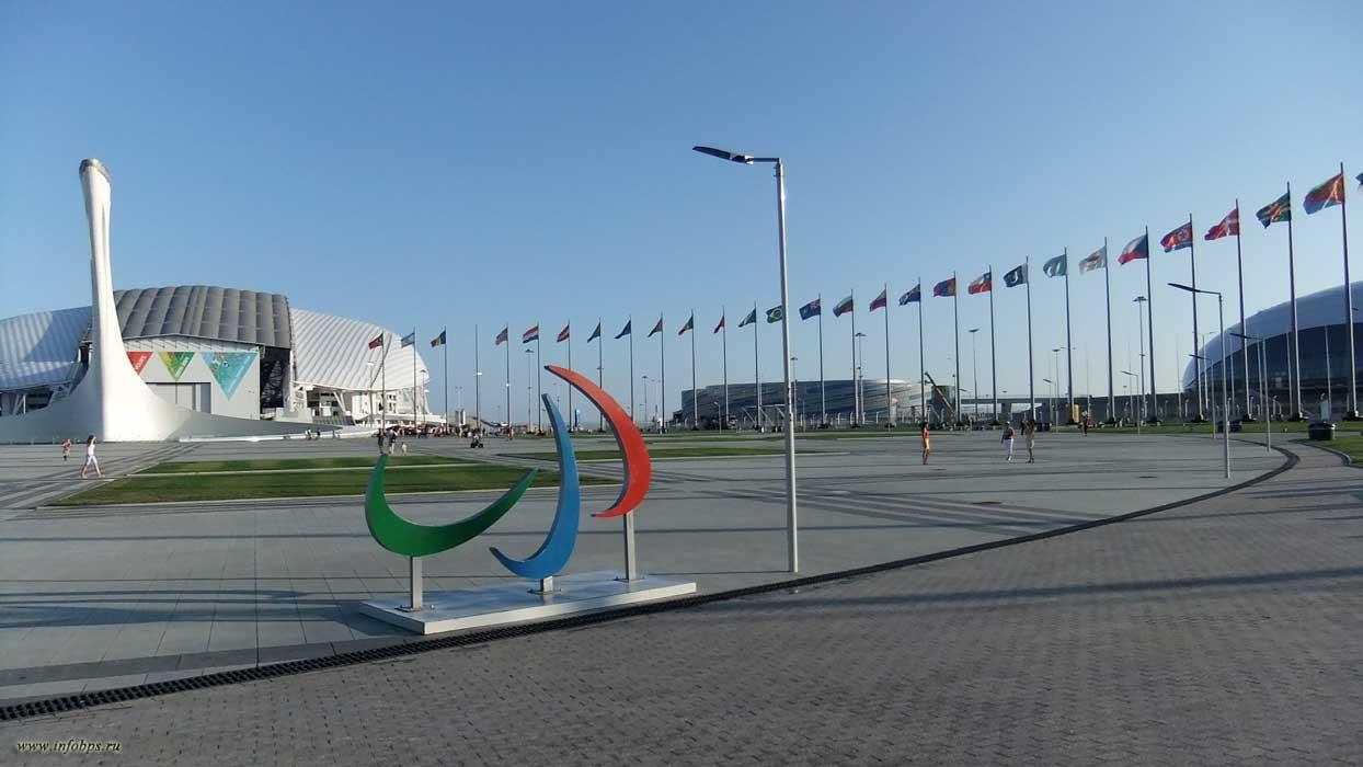 Объекты ледового кластера Олимпиады